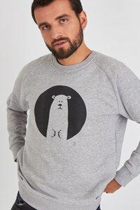 Biobaumwolle & Fair hergestellt - Hochwertiges Sweatshirt/ Icebear - Kultgut