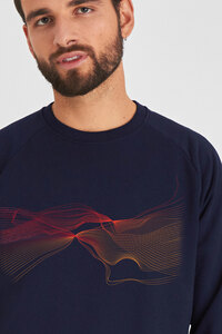 Biofair- Gemütlicher, weicher Sweater - Innen flauschig / Faded Love - Kultgut
