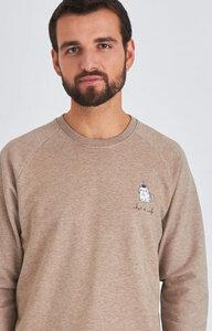 Biofair- Klassisches Sweatshirt/ chat et cafe - Kultgut