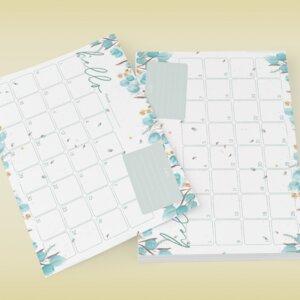 Monatsplan Block Din A4 - Fines Papeterie