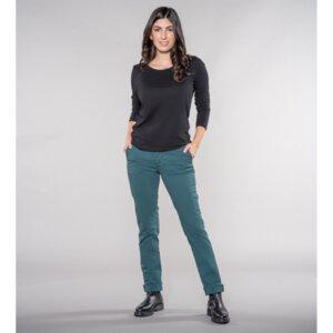 Laina Chino | Casual Fit | Emerald Green - Feuervogl