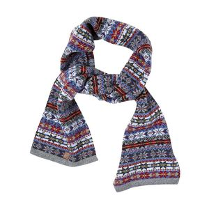 Jacquard Knit Scarf - KnowledgeCotton Apparel