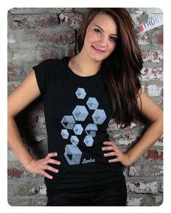 Quader T-Shirt Frauen - Trusted Fair Trade Clothing