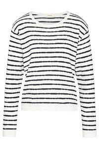 """Damen Pullover aus Biobaumwolle """"Crewknit slub stripes"""" - Wunderwerk"""