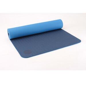 Yogamatte TPE Lotus Design® 6mm, rutschfest, recyclebar - Lotus Design®