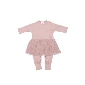 Baby Schlafanzug mit Tutu - aus GOTS-zertifizierter Bio-Baumwolle - Wooly Organic