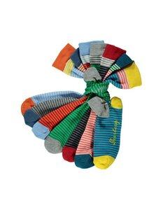 7er Pack Socken Semira - mit Ringelmuster - Deerberg