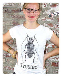 Kakerlake T-Shirt Frauen - Trusted Fair Trade Clothing