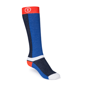 ThokkThokk Freestyle Plüsch Socken orange/midnight/blue - THOKKTHOKK