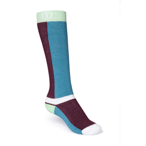 ThokkThokk Freestyle Plüsch Socken mint/dark red/reef - THOKKTHOKK