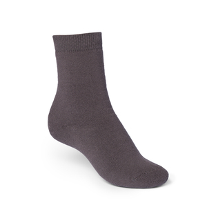 ThokkThokk Plain High-Top Plüsch Socken graphite - THOKKTHOKK