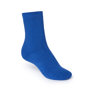 ThokkThokk Plain High-Top Plüsch Socken blue - THOKKTHOKK