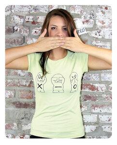 X-O Männchen T-Shirt Frauen - Trusted Fair Trade Clothing