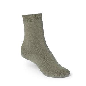 ThokkThokk Plain High-Top Plüsch Socken olive - THOKKTHOKK