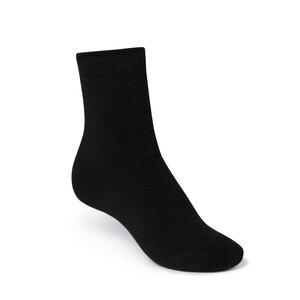 ThokkThokk Plain High-Top Plüsch Socken black - THOKKTHOKK