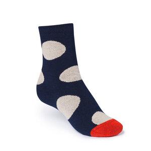 ThokkThokk Polka High-Top Plüsch Socken midnight - THOKKTHOKK