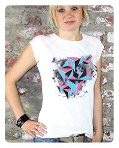 Triangle T-Shirt Frauen - Trusted Fair Trade Clothing
