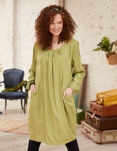 Kleid Mela in O-Shape - aus 100% Viskose (EcoVero) - Deerberg