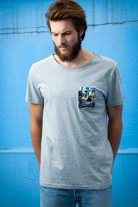 Shirt Ducklife Brusttasche grau - Degree Clothing