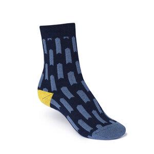 ThokkThokk Lift High-Top Plüsch Socken midnight - THOKKTHOKK