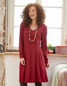 Jersey-Kleid Marietta - aus 100% Bio-Baumwolle (GOTS) - Deerberg