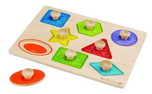 Formen- und Holzpuzzle  - EverEarth