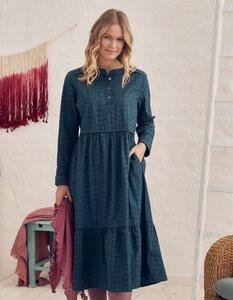 Kleid Tolve mit Lochstickerei - aus 100% Bio-Baumwolle (GOTS) - Deerberg