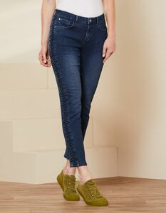 Slim-Fit-Jeans Thalina - aus Bio-Baumwolle - Deerberg