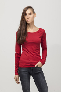 Grace T-shirt - Bamboo - Chili Pepper - Re-Bello