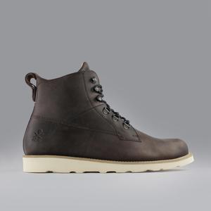 cedar boot / braunes leder / vibram sohle - ekn footwear