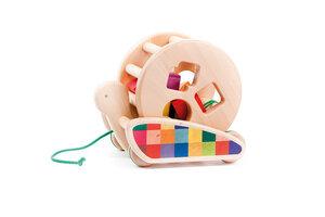 Bajo rollende Schnecke Holzspielzeug - BAJO Holzspielzeug