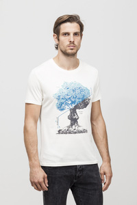 Bob T-shirt - Bamboo - Whisper White  - Re-Bello