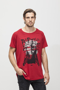 Peter T-shirt - Bamboo - Chili Pepper  - Re-Bello