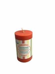 BIO Kerze aus Rapswachs 80 mm Sommer-Dekor in 4 Farben - Stuwa