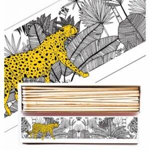 Cheetah Matchbox lange Streichhölzer - Just Be