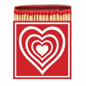 Hearts Matchbox Streichhölzer - Archivist