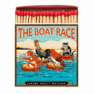 The Boat Race Matchbox Streichhölzer - Just Be