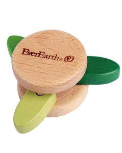 Rassel-Spielzeug Blatt  - EverEarth