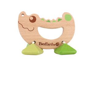 Rassel-Spielzeug Krokodil - EverEarth