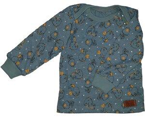 Babyshirt aus Biojersey kleiner Drache - Omilich