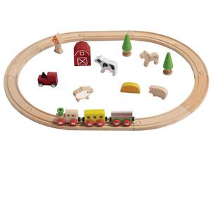 Eisenbahn-Set Bauernhof  - EverEarth