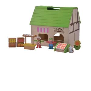 Bio-Laden Puppenhaus  - EverEarth