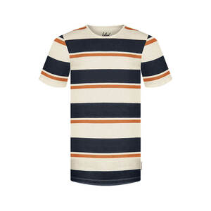 Block Stripe Hanf T-Shirt - bleed