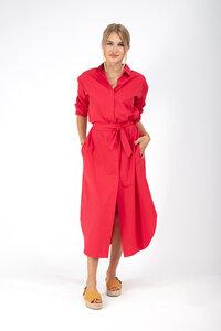 Hemdblusenkleid aus Bio-Baumwolle - NINA REIN