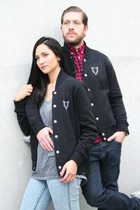 UNISEX Collegejacke black VEROIKON  - VEROIKON