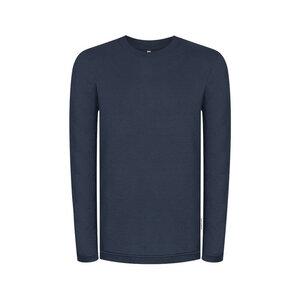 Doublefab Sweater Blau - bleed