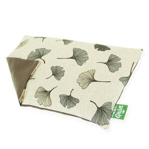 Kirschkernkissen Ginko - Wärme Kissen - Himmelgrün