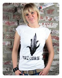 UNI/CORN Frauen T-Shirt - Trusted Fair Trade Clothing