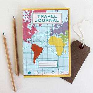 Reise-Tagebuch 'Weltkarte' - Sukie