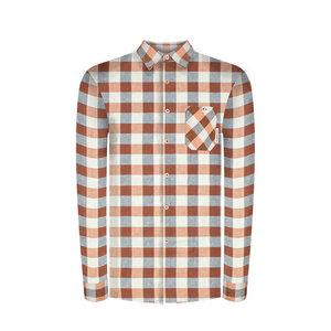 Lumberjacks Hanf Hemd Blau/ Ocker - bleed